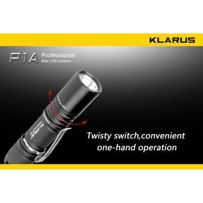 Φακός Led Klarus P1A 150 Lumens