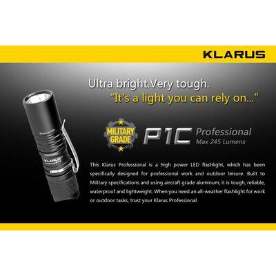 Klarus P1C 245 Lumens