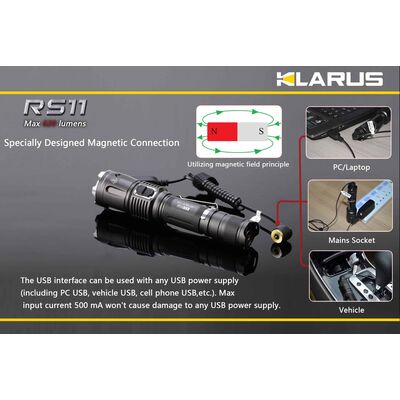 Klarus RS11 620 Lumens