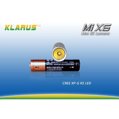 Φακός Led Klarus MiX6 85 Lumens