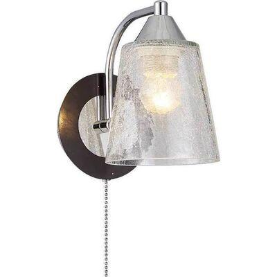 Lighting Pendant 1 Bulb Wenge + Chrome ZORY1W