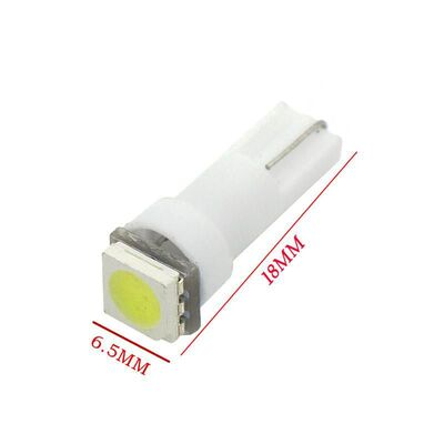 Led Bulb T5 1 SMD5050 Cool White