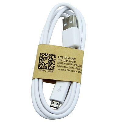 Καλώδιο USB - micro USB 1m White