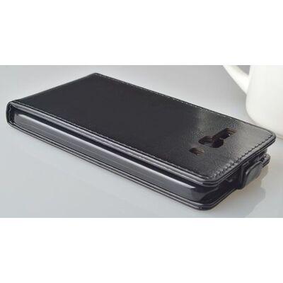 Plus Flip Cover Leather Case Alcatel C9  Black 7047D