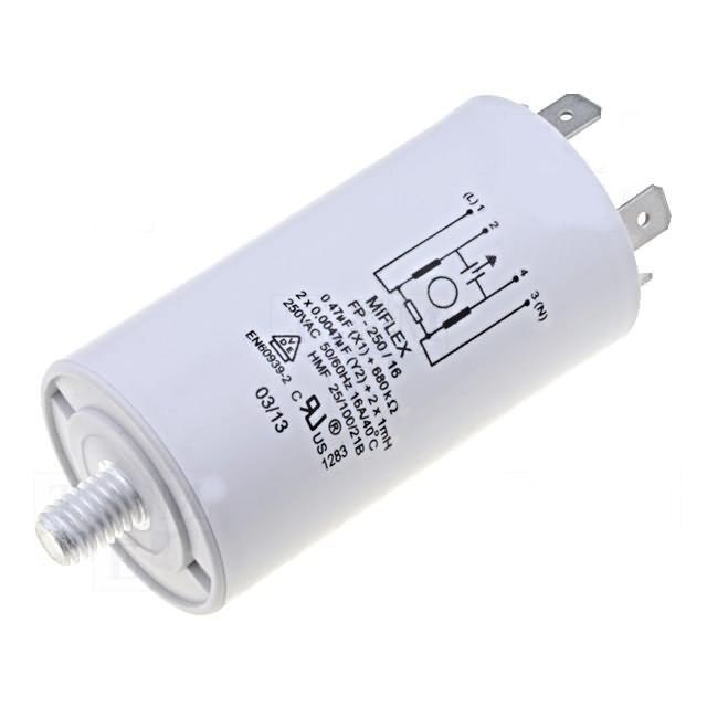 Anti-interference Capacitor FP-250/16 1mH:C,x0 47uF:10nF 250V/16